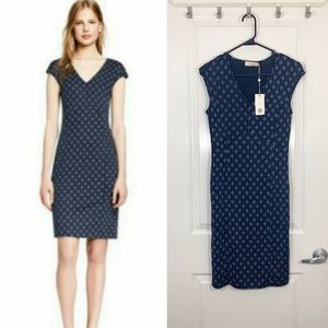 Tory Burch Sleeveless Libby Silk Dress